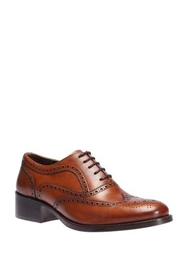 İnci %100 Deri Casual Ayakkabı Taba